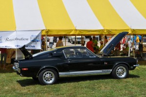 1968 Shelby GT500KR at Blue Oval Rally