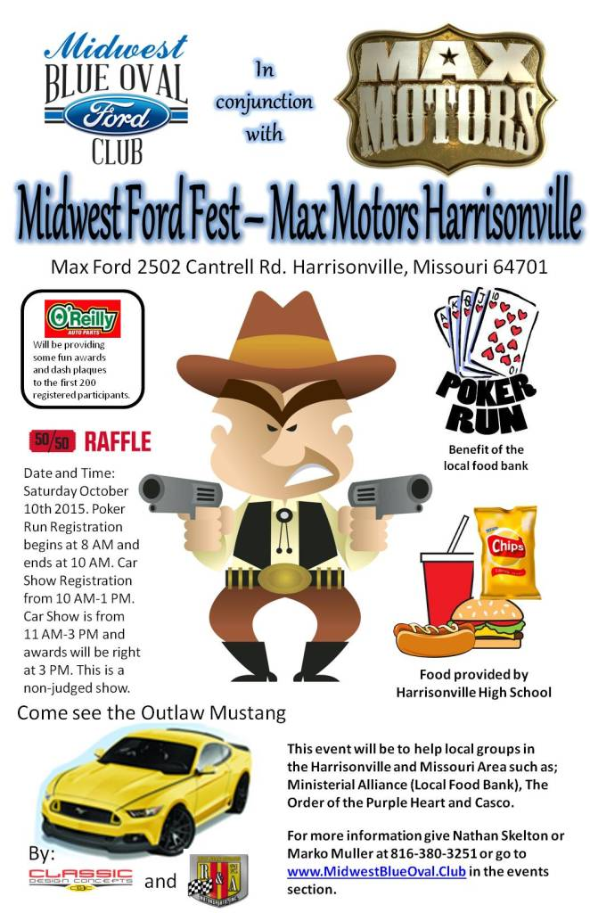 Max Motors Harrisonville >> Midwest Ford Fest – Max Motors Harrisonville