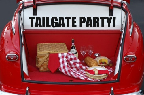 If you want to come to the tail gate party Friday night, please select. Cost is free.