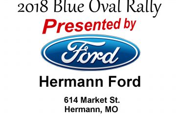 2018 Blue Oval Rally – Hermann MO